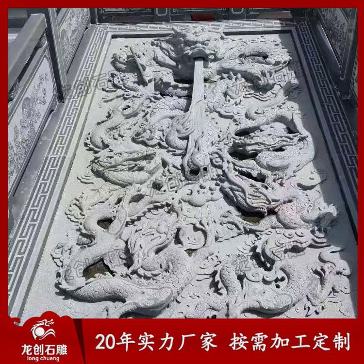 特别介绍石材浮雕制作方式和施工工艺