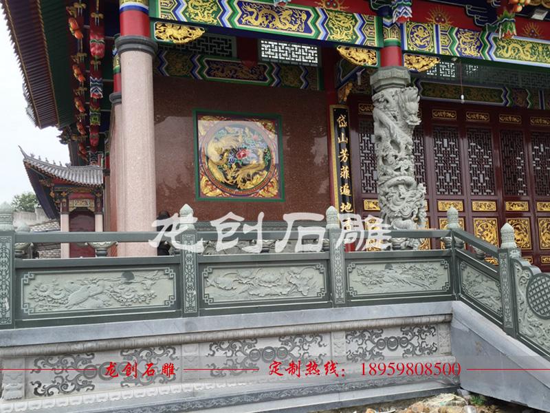 石雕栏杆设计 石材栏杆公司