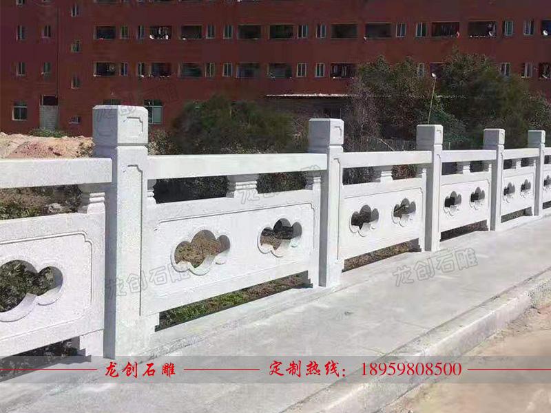 石材栏杆护栏 桥梁护栏厂家
