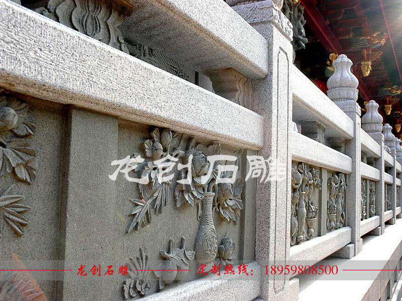 石雕栏杆护栏 福建大理石栏杆厂家