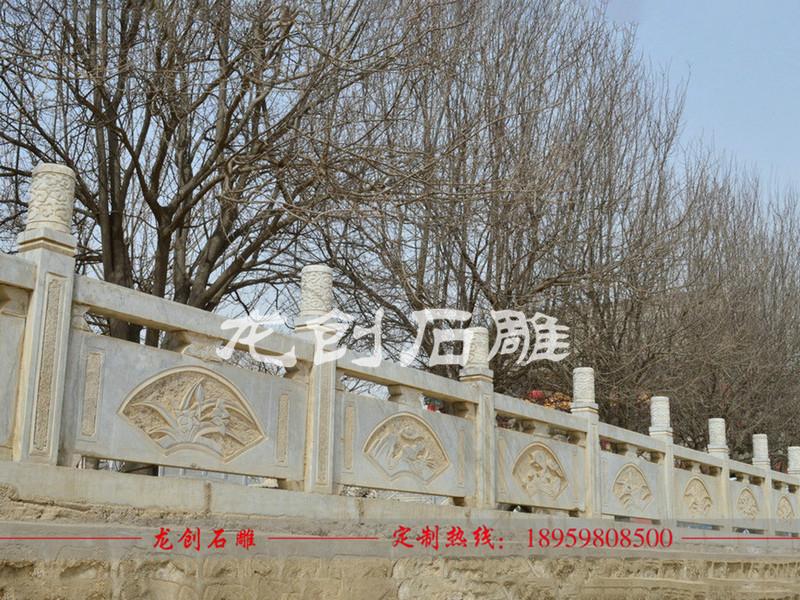 石材扶手栏杆 石材雕刻栏杆