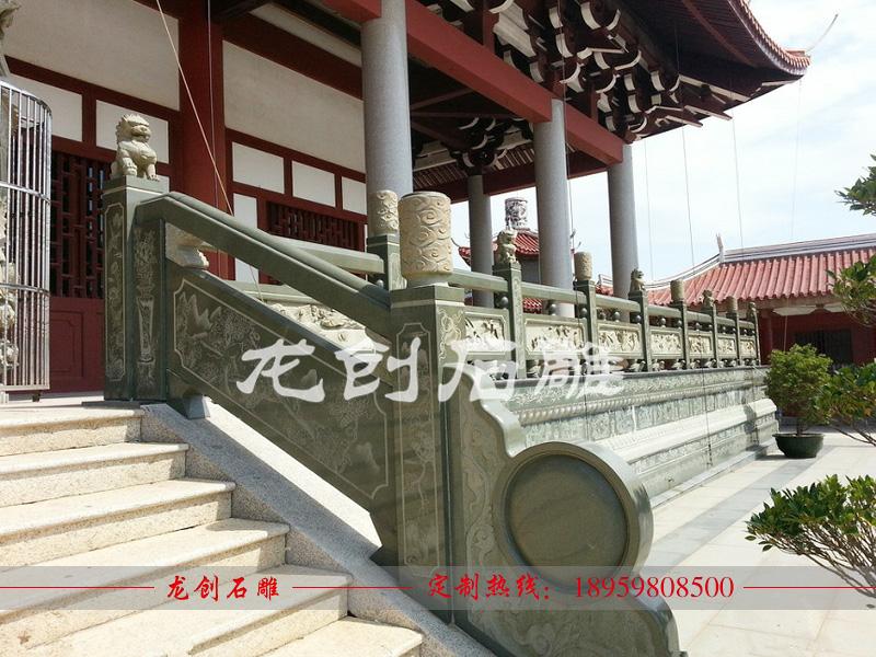 寺院石栏杆批发 寺庙石栏杆厂家