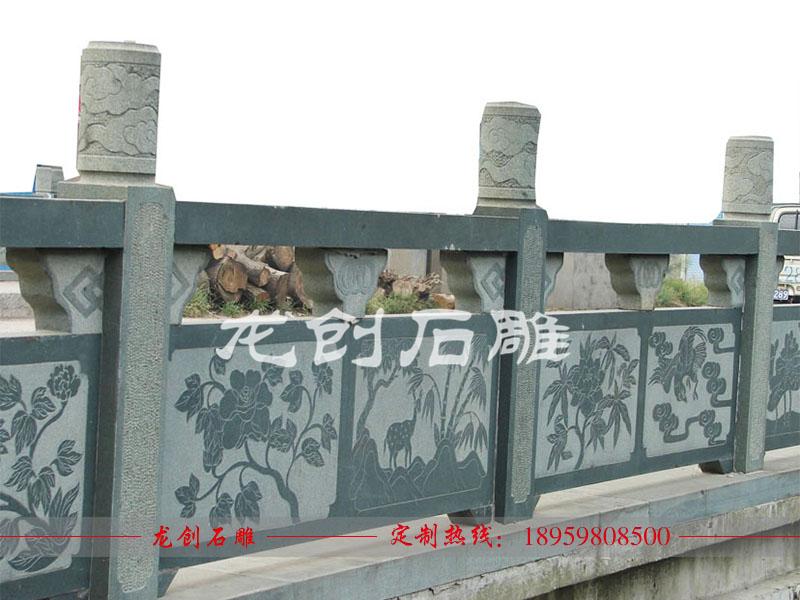 青石栏杆哪有做 青石栏杆雕刻厂家