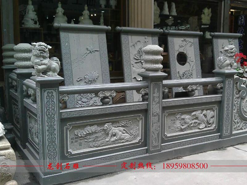 寺院石栏杆