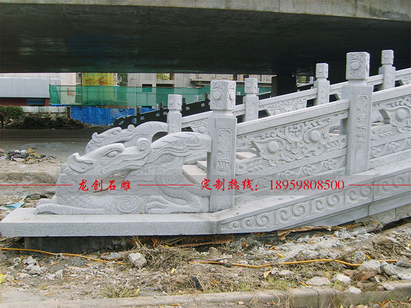 汉白玉石材栏杆