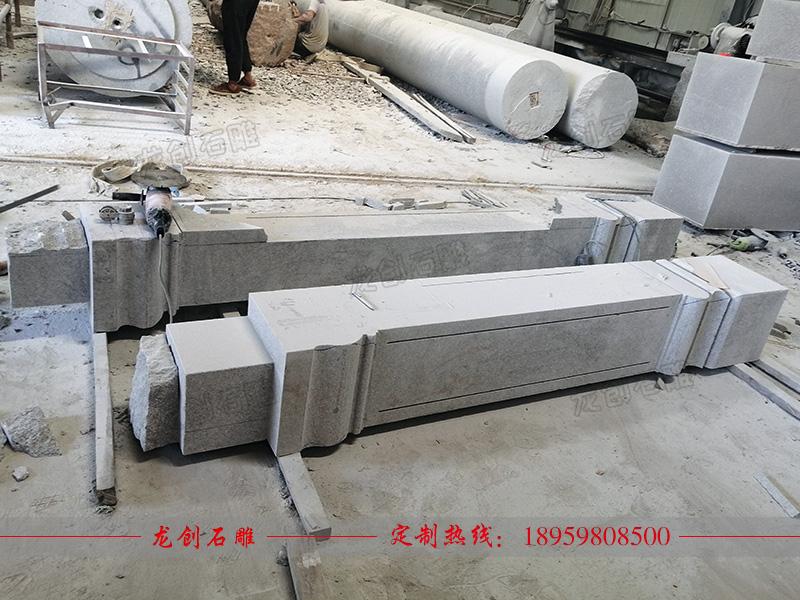 石雕方柱制作