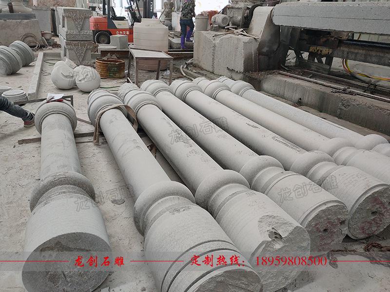 石雕圆柱制作