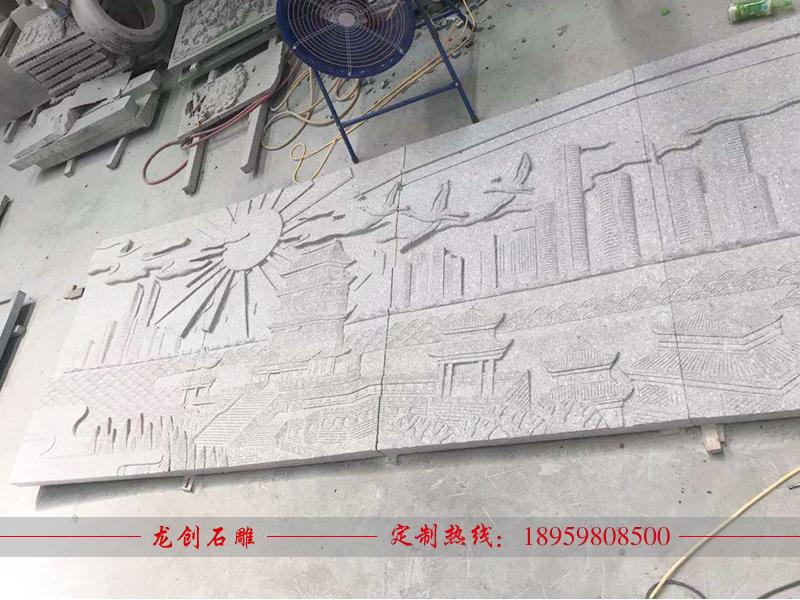 江西峡江石材文化浮雕制作