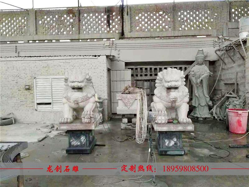 石雕狮子制作
