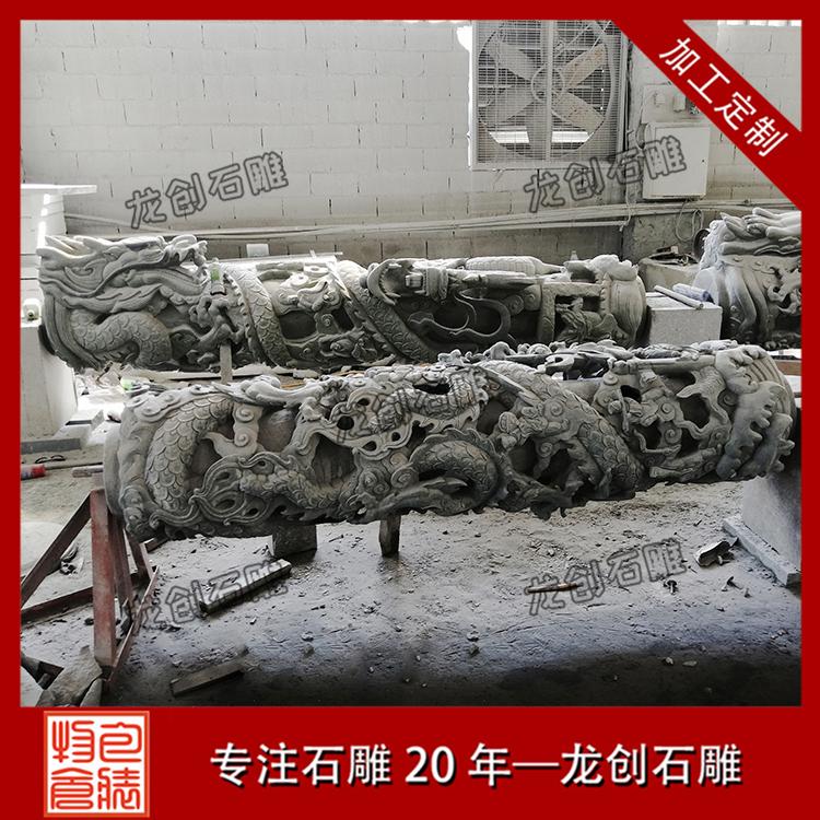 石雕龙柱图片展示