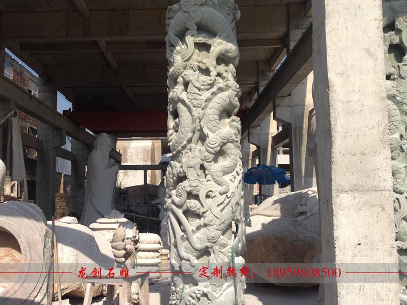 浮雕龙柱一般多贵 石龙柱的价格