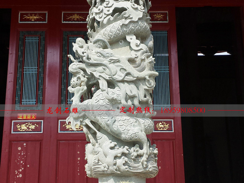 石雕龙柱生产哪里好 福建石雕龙柱厂家