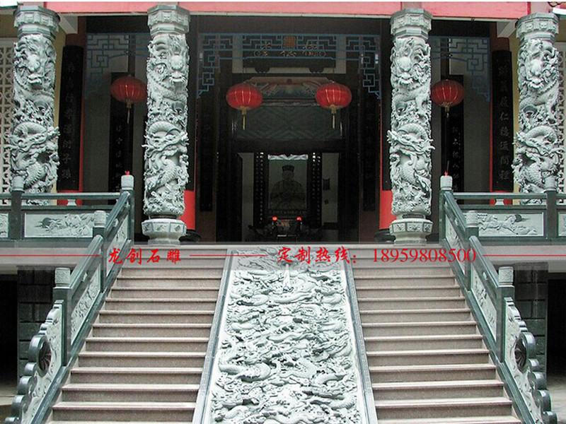 龙柱石雕厂家
