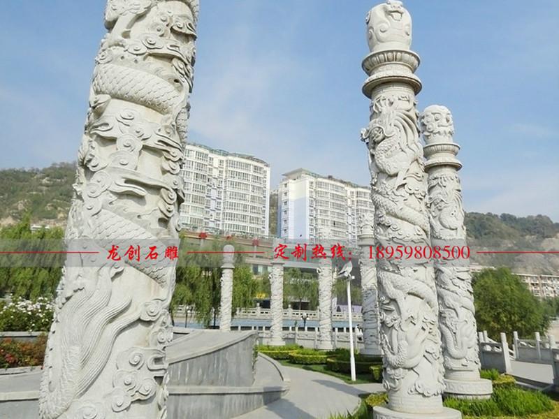 龙柱石雕价格