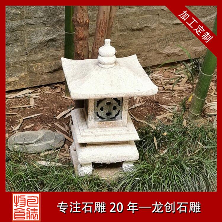 精品石雕灯笼图片