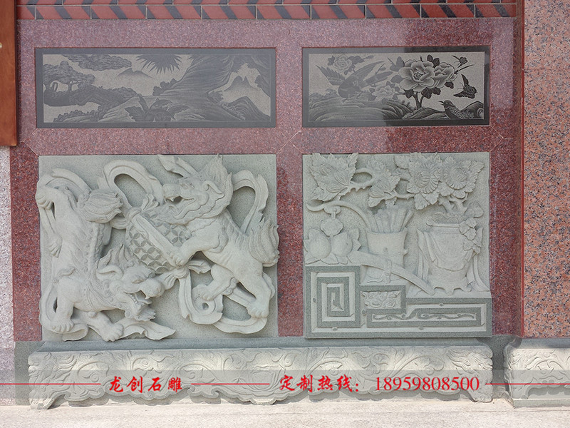 寺庙浮雕图案花样 佛教寺庙浮雕