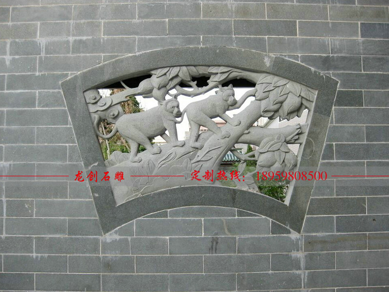 石材镂空浮雕