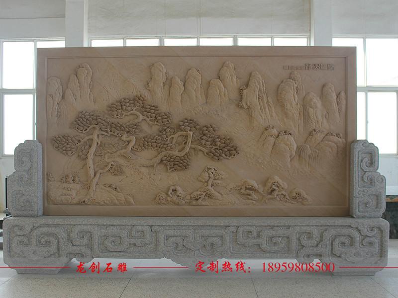 祖庙石材浮雕 祠堂石雕壁画