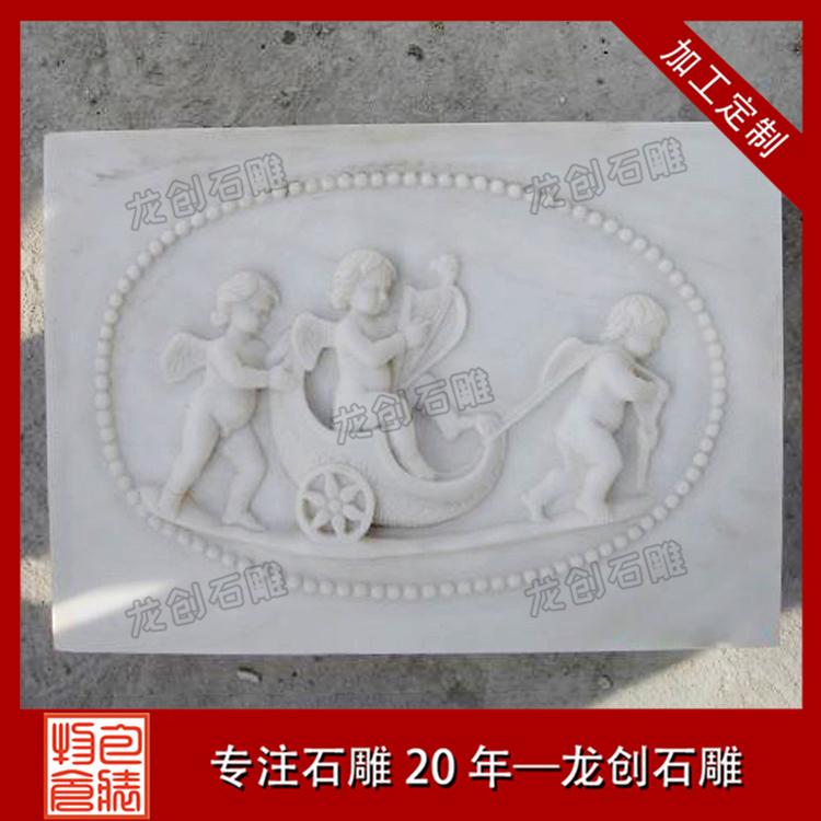 欧式人物石材浮雕图片