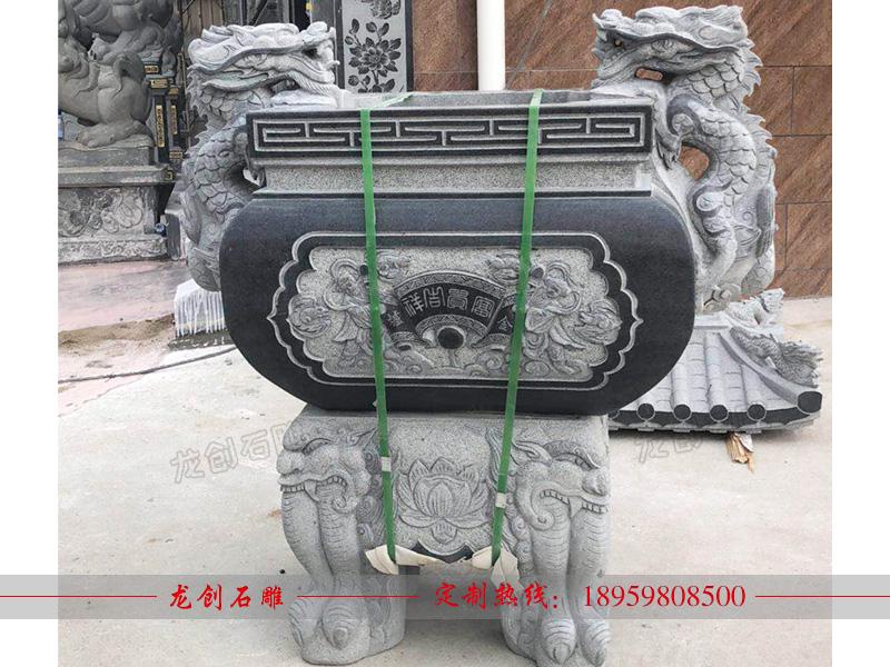 方形石雕香炉图片大全及介绍