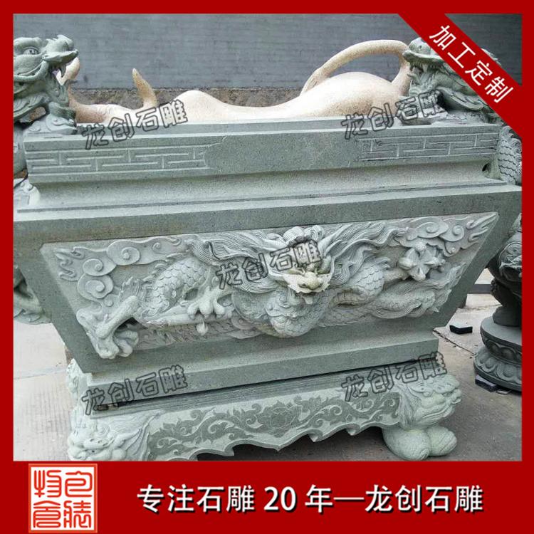 高清石雕寺庙香炉图片