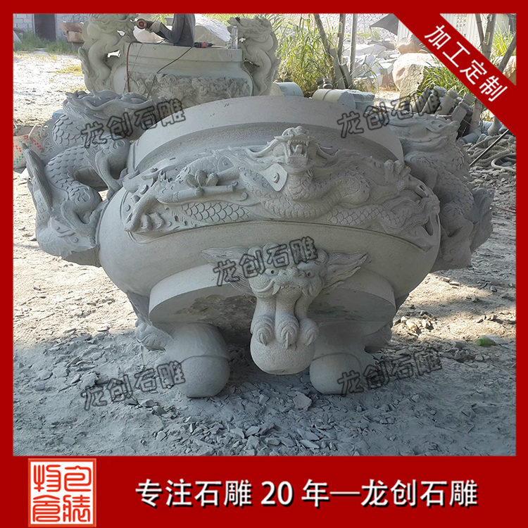 石雕香炉样式及图片