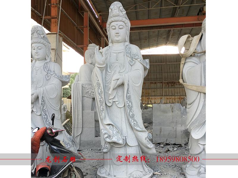 石雕观音像多少钱 石雕观音像制作厂家