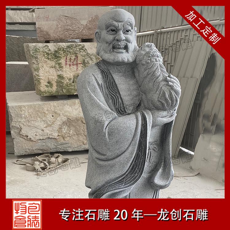 十八罗汉石雕图片大全