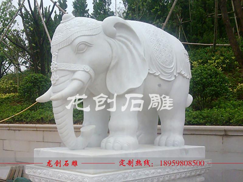 石雕大象价格如何