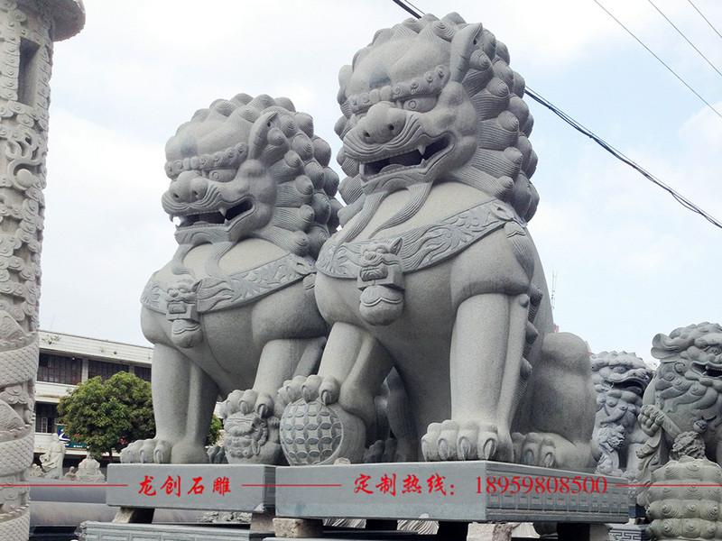 石雕狮子批发