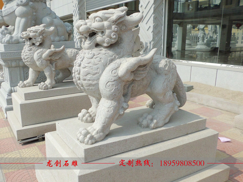 貔貅石雕造型
