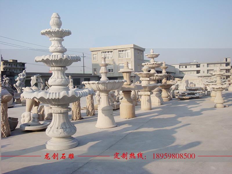 石雕欧式喷泉