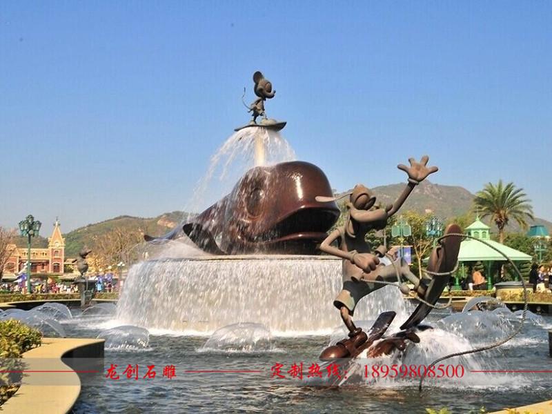 人物喷泉雕塑