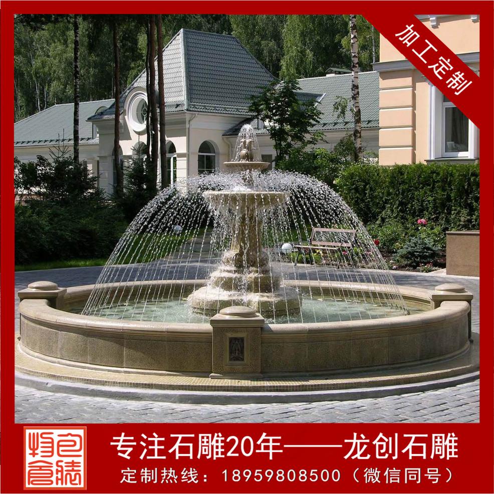 福建石雕喷泉