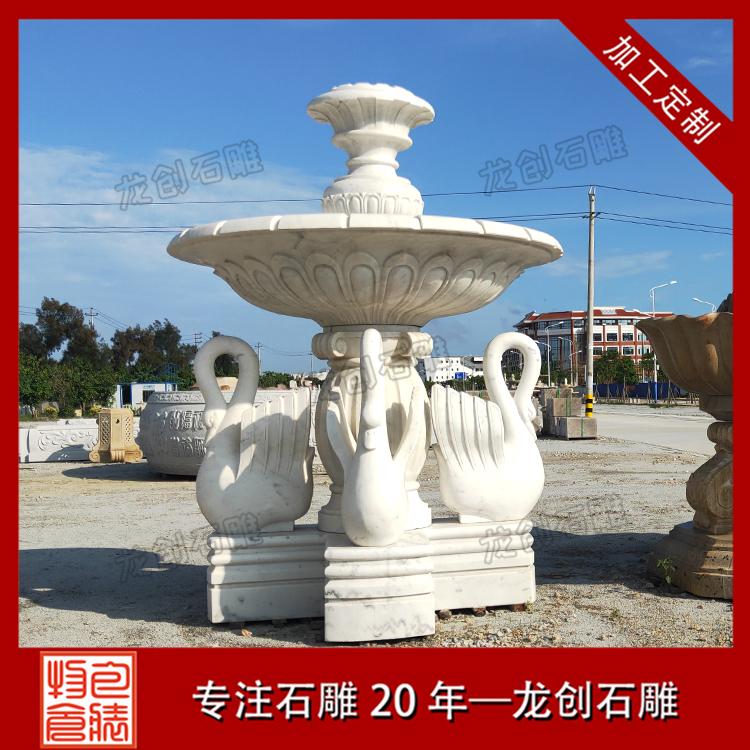 石材喷泉雕塑图片