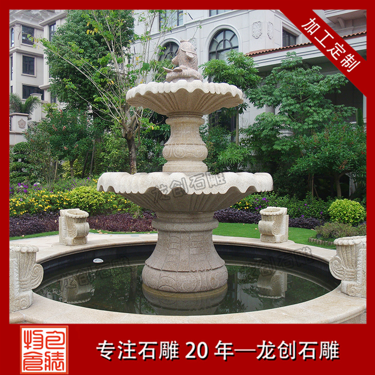 喷泉石雕图片及样式