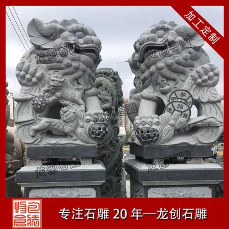 石雕狮子厂家 石雕北京狮子厂家