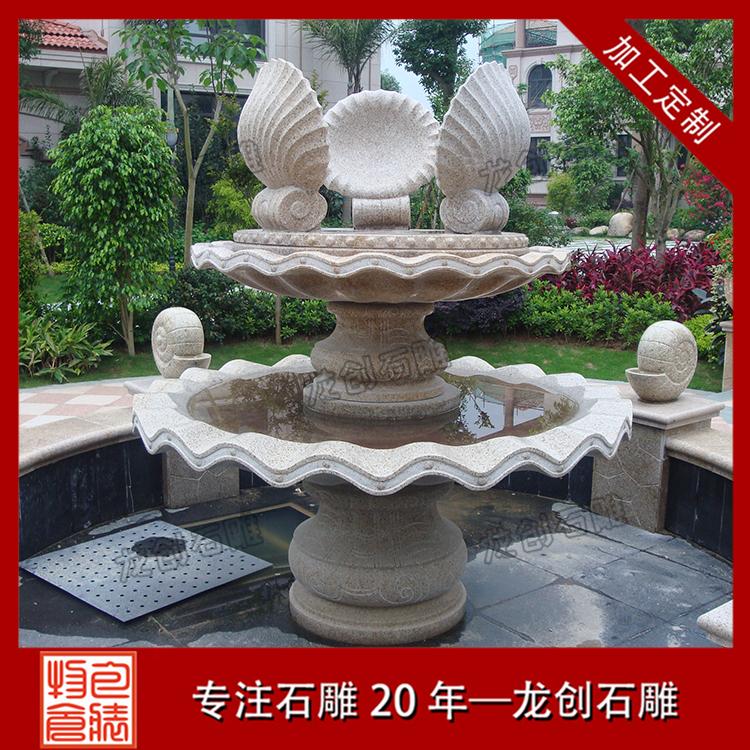 石雕水景喷泉图片及样式