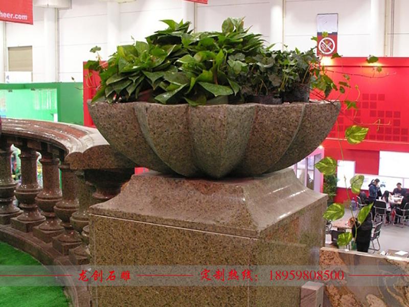 石头花盆价格