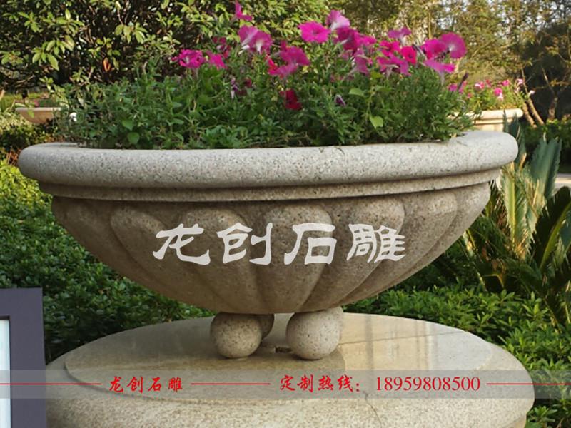 石雕花盆多少钱 石雕花盆报价