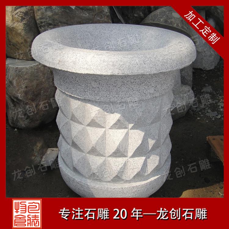 供应石雕花钵 石雕花钵生产 常年加工