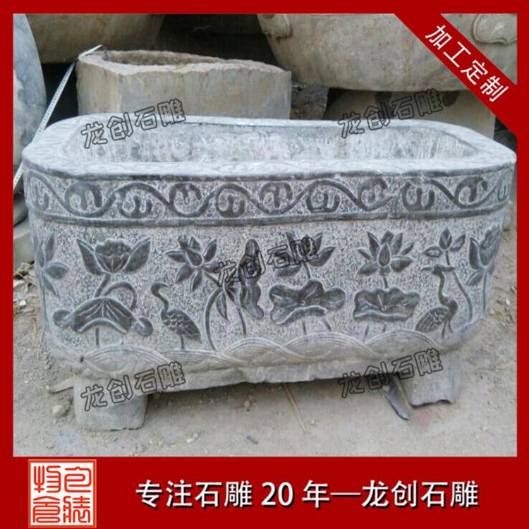 石材花钵花盆图片