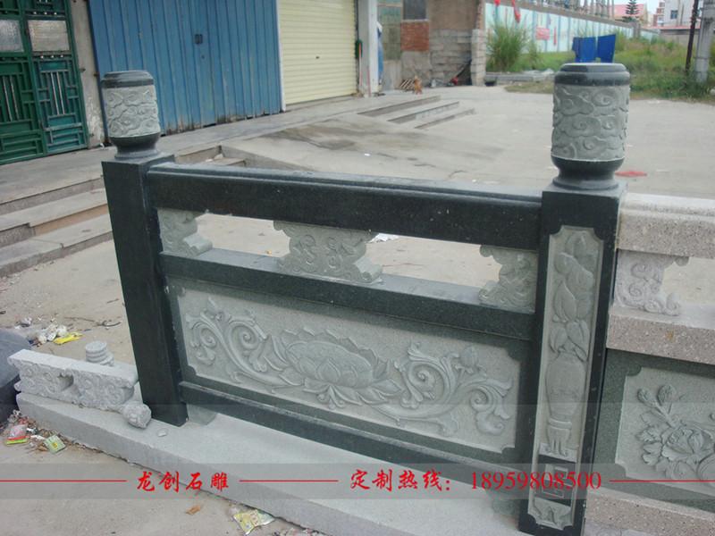 石雕栏杆如何正确安装 石雕栏杆安装厂家