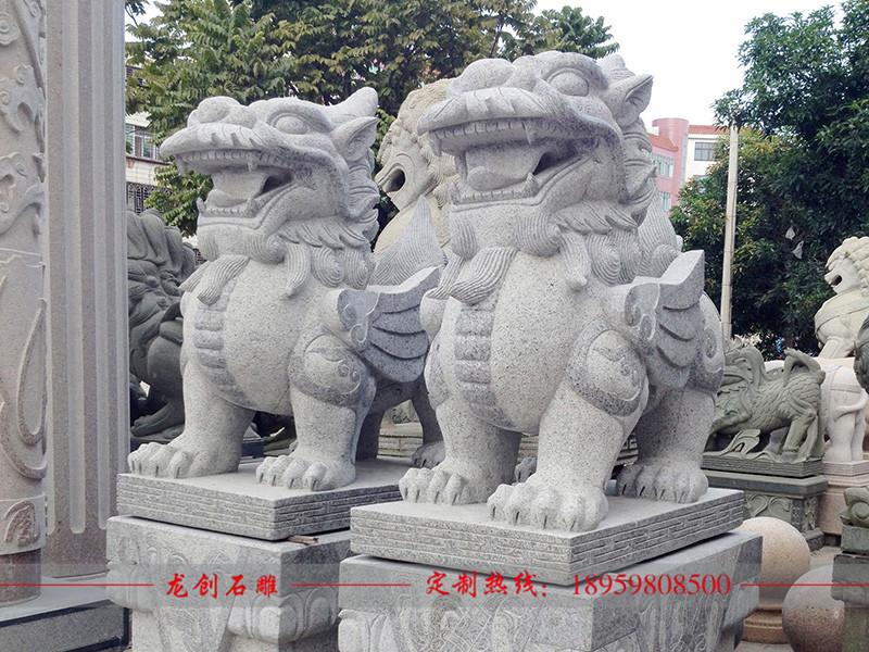 石雕貔貅制作批发厂家——龙创石雕