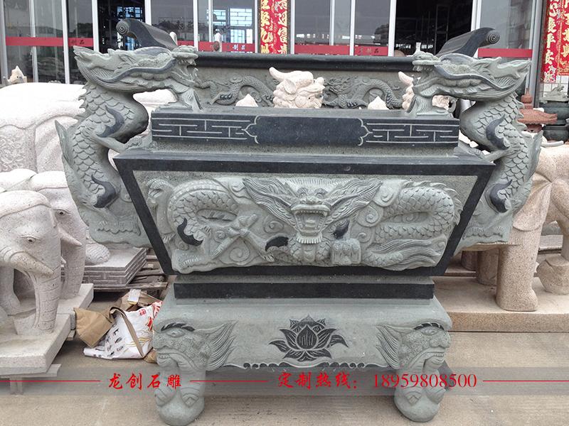 石雕香炉制作厂家——龙创石雕