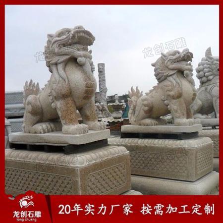 惠安工艺雕刻石雕貔貅 貔貅石雕报价