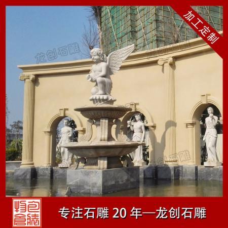 厂家推荐石雕喷泉雕塑 石雕景观喷泉