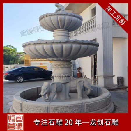 福建石雕喷泉加工 石雕喷泉水景厂家